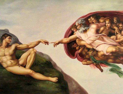 Адамын бүтээл-Микаланжело