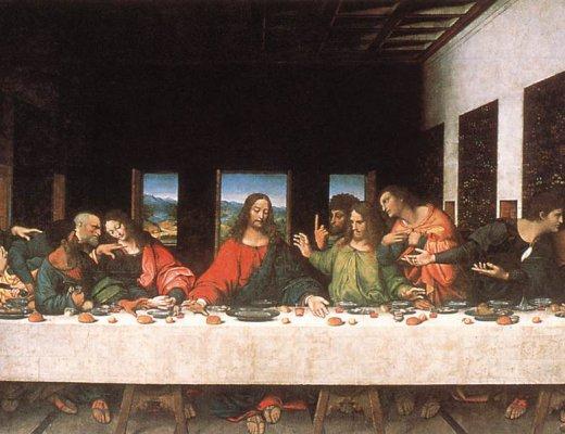 Сүүлчийн оройн зоог-Леонардо Да Винчи