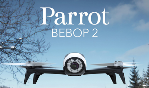 The Parrot Bebop 2 Power lets you boldly