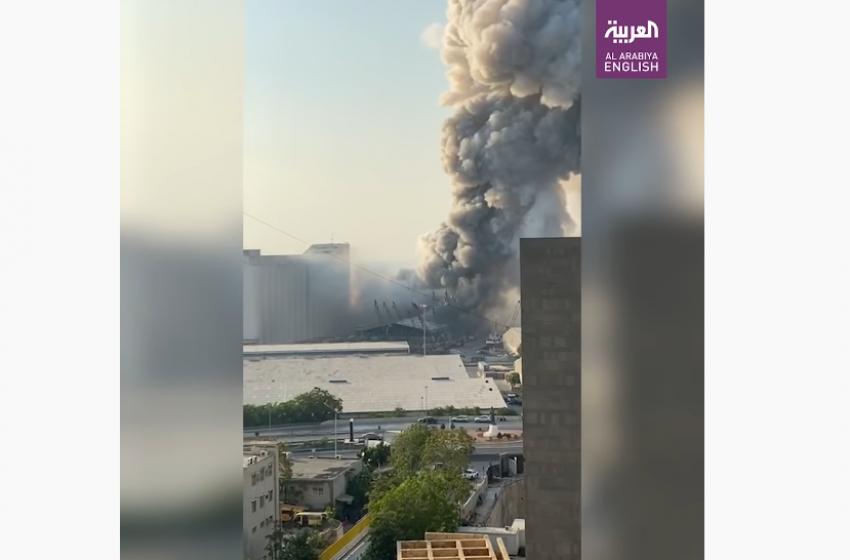 Лебанон улсын Бейрут хотод атомын бөмбөг шиг маш том дэлбэрэлт болжээ
