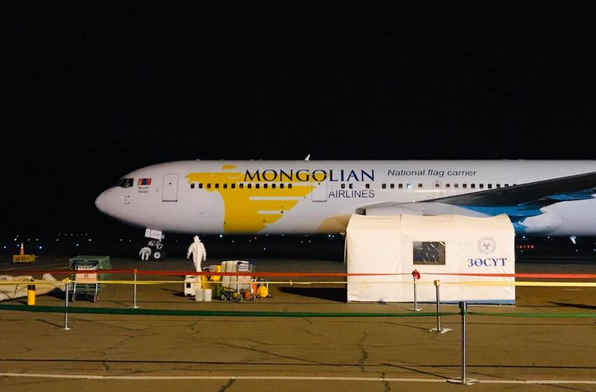 Япон улсаас 250 иргэнээ онгоцоор авлаа
