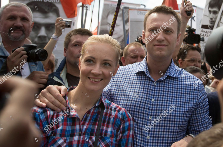Юлия Навальная Оросоос Герман луу явсан уу
